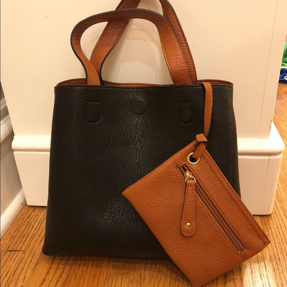 Urban Outfitters Mini Reversible Faux Leather Tote.  M 5b91a1a08869f717c9c4c6c3 4d5877996